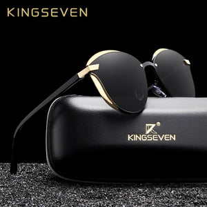 KING SEVEN Cat Eye Polarized UV400 Ladies Sunglasses By: Victor Vanquish