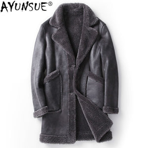 AYUNSUE Shearing Double-Sided Coat By: Victor Vanquish