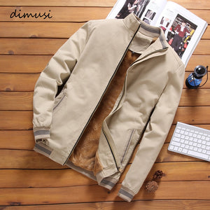 DIMUSI Bomber Fleece Windbreaker/ Jacket By: Victor Vanquish
