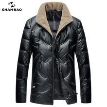 SHNABAO Down Winter Wool Collar Jacket By: Victor Vanquish