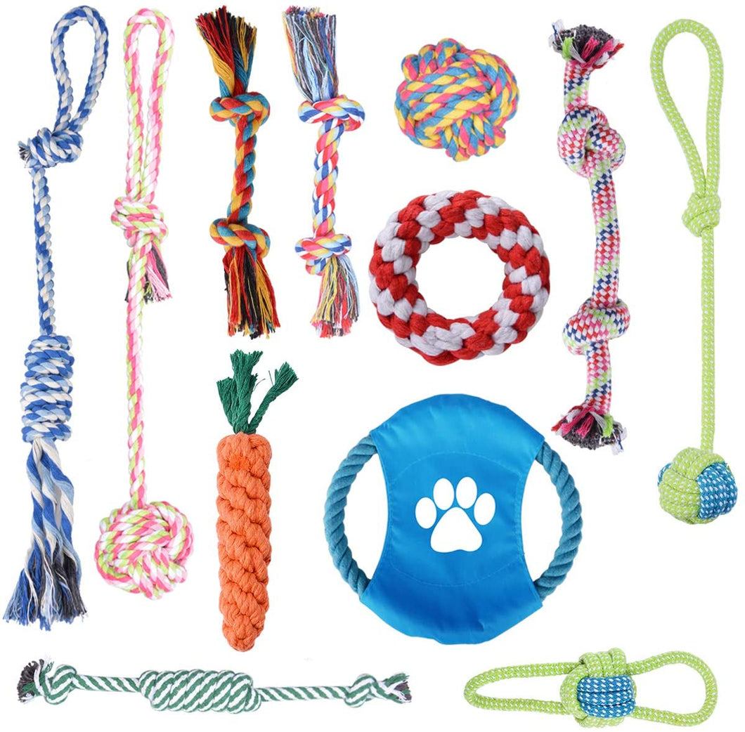 Rope Toys Bundle (12Pack )