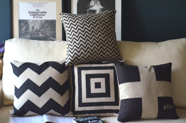 Zig Zag Pillow Covers - windypebble