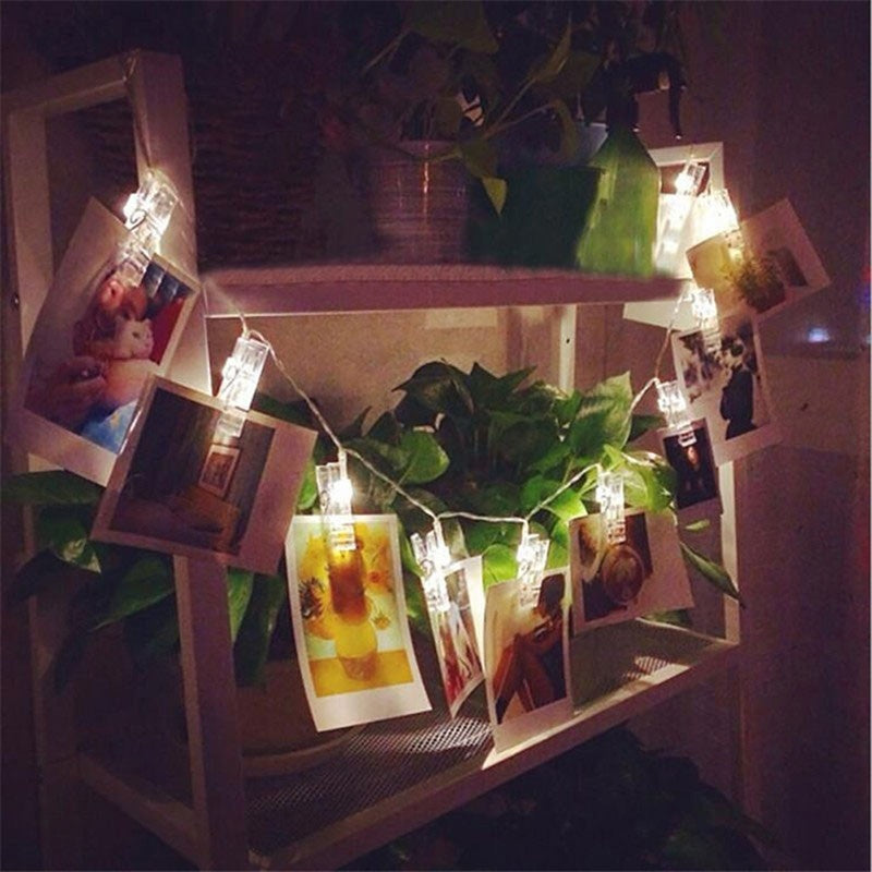 Photo Clip String Lights - windypebble