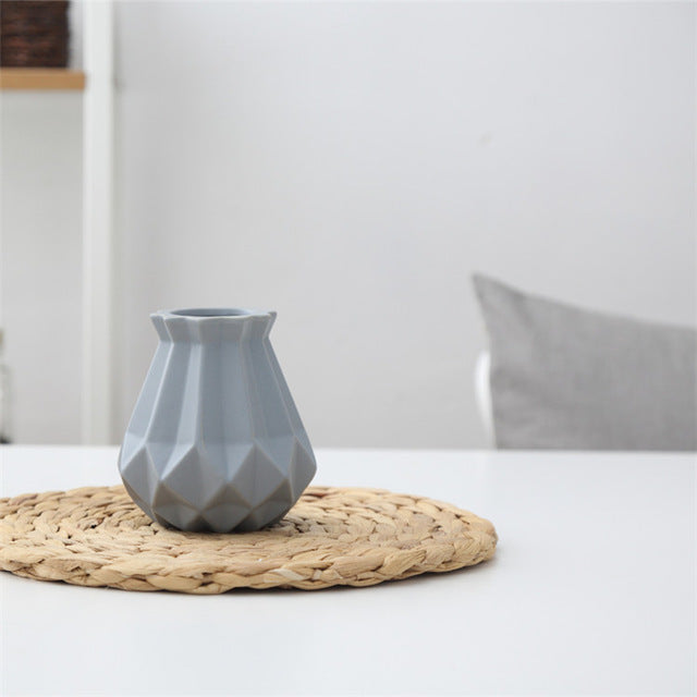 Geometric Euro-Modern Vase - windypebble