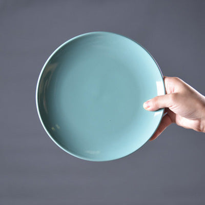 Colorful Porcelain Plates - windypebble