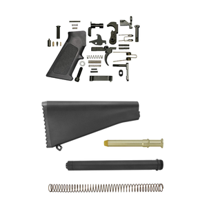 A2 Style Lower Build Kit For AR-15