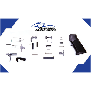 Anderson Lower Parts Kit (Black Trigger)