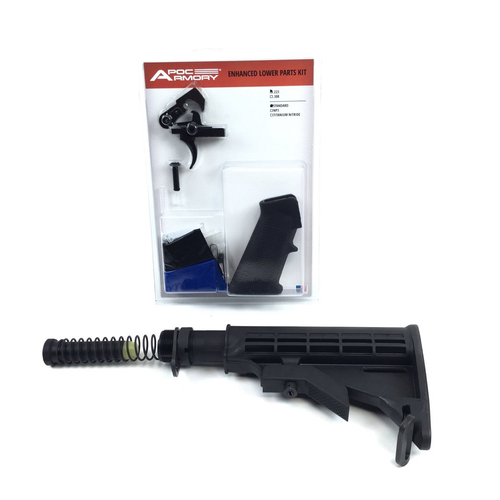 Ar-15 lower Build Kit With APOC Armory LPK