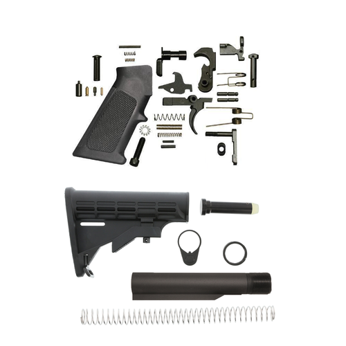 Mil Spec lower Build Kit For AR-10/.308