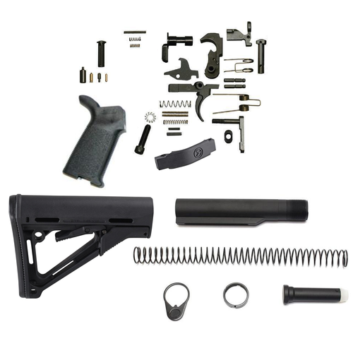 Magpul CTR Lower Build Kit (Black)
