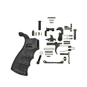 Ar-15 lower Parts Kit With DMR Grip (Black)