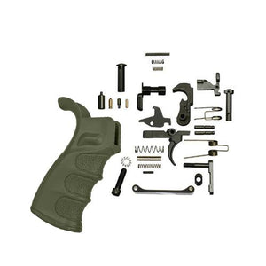 Ar-15 Lower Parts Kit With DMR Grip (OD Green)