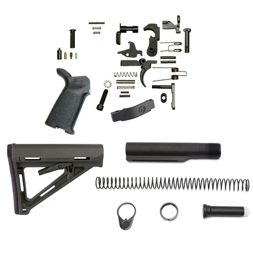 Magpul MOE Lower Build Kit For AR-15 (Black)
