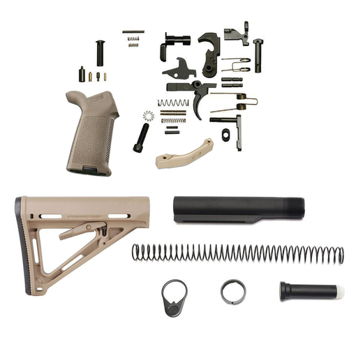Magapul MOE Lower Build Kit For AR-15 (FDE)