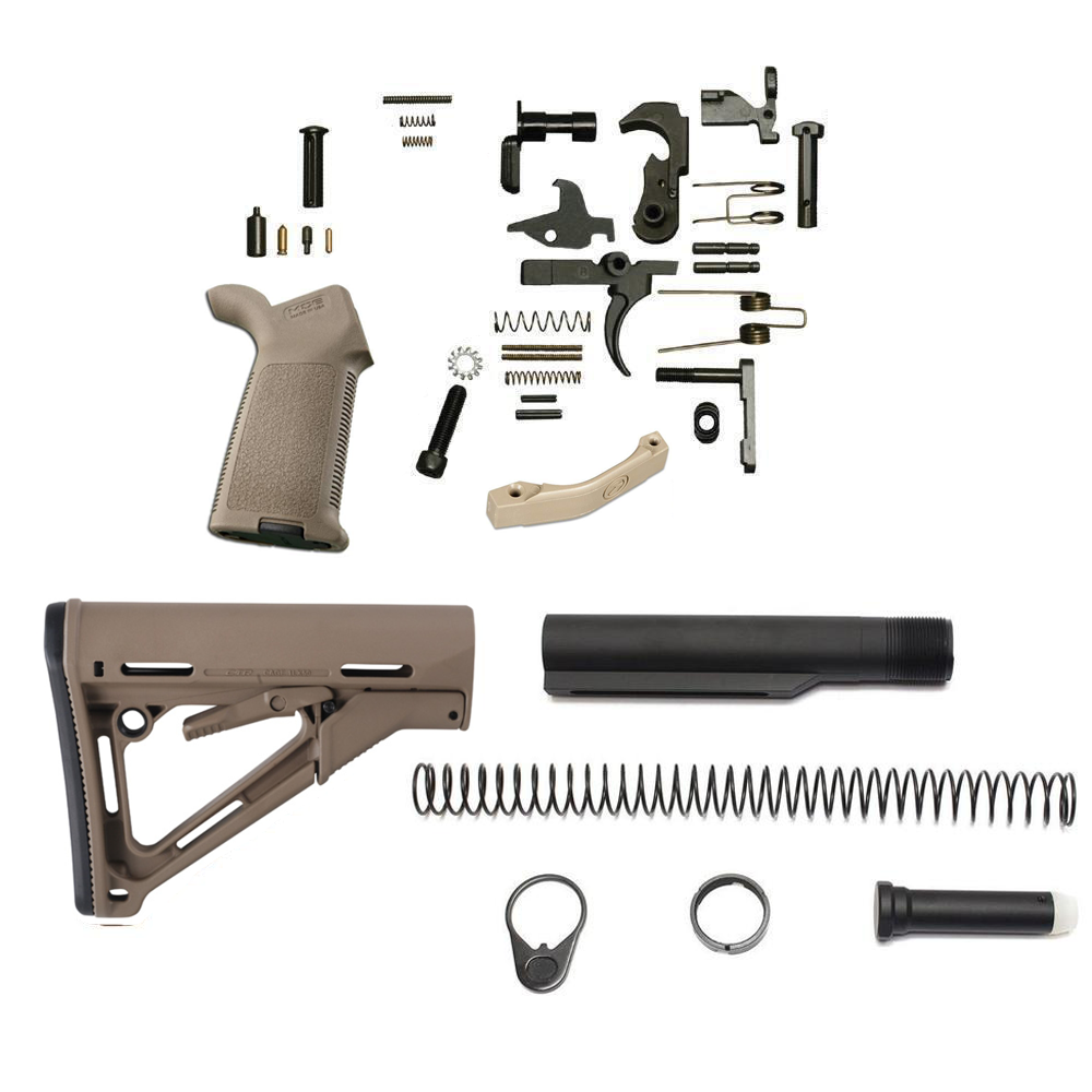 Magpul CTR Lower Build Kit (FDE)