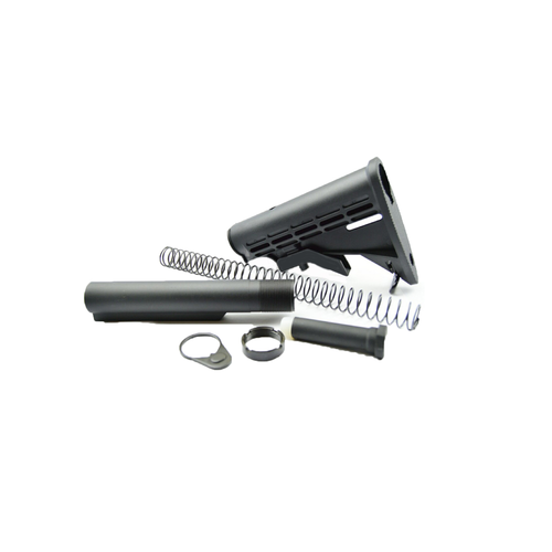 USGI Mil Spec Stock & Buffer Kit (Black)