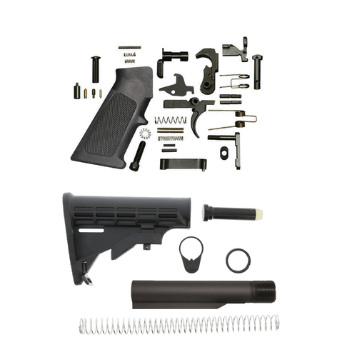 Mil Spec Lower Build Kit For AR-15