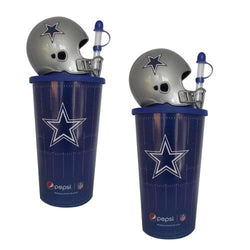 2 Vasos Casco Colección Nfl Dallas Cowboys Vaqueros Dallas