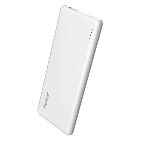 Power Bank Cargador Portátil Besiter Maya 05 Blanco 5000 Mah