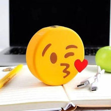 Power Bank Emoji Emojis Beso Emoticon Recargable Cargador
