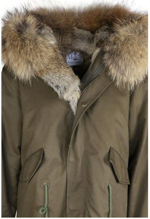 Mode and Affaire Washington Parka - Khaki - LUXAMORE AUSTRALIA