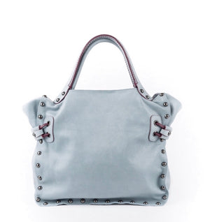 Jamin Puech LUCIEN PM Cross Body and Shoulder Bag - Blue Sky - LUXAMORE AUSTRALIA