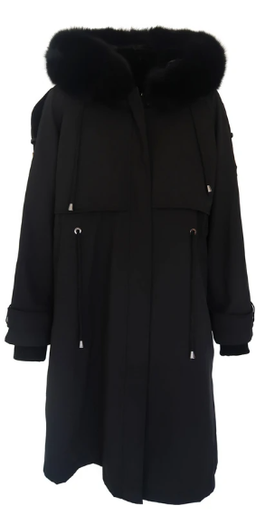 Mode and Affaire Maxwell Parka - Onyx