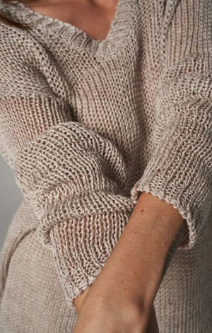 Estilo Emporio Ravello Knit Jumper - Aragon Natural