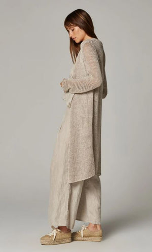 Estilo Emporio Summer Tamara Knit Coat - Aragon Natural