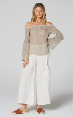 Estilo Emporio Off the Shoulder Twiggy Top - LUXAMORE AUSTRALIA