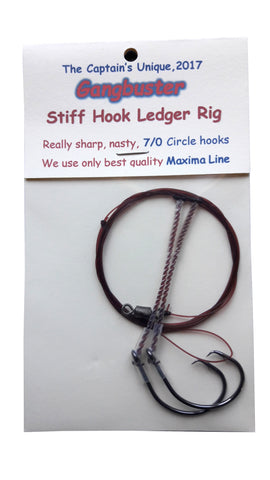 The Captains Stiff Hook Ledger Rigs