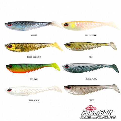 Berkley PowerBait Giant Ripple Shad Softbait