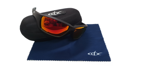CDX Sunglasses Bendy Red Revo