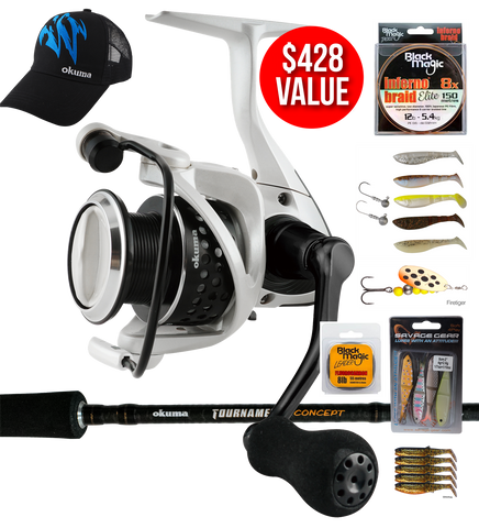 Okuma Tournament Concept and Ceymar Trout Special