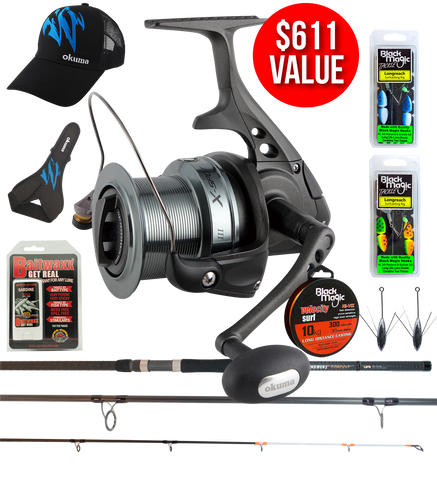 Okuma Tournament Concept and X-Spot Surf Special