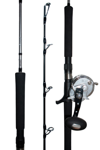 Okuma Cedros 10 and Cedros 300gm Jigging Combo
