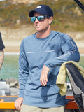 Angler Tech Long Sleeve - Navy Teal
