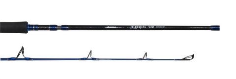 Okuma Azores Blue 3pc Stickbait/Popper Rod With Tube
