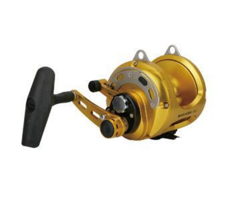 Okuma Makaira 50 2-Speed Open Top Game Reel