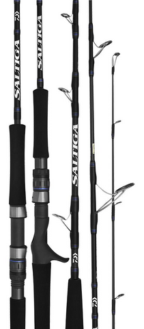 Daiwa Saltiga X 762S-2/4 Light Stickbait Rod