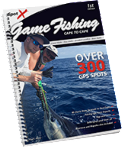 Spot-X Cape to Cape Game Fishing Book