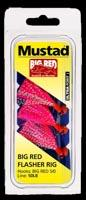 Mustad Big Red Flasher Rig
