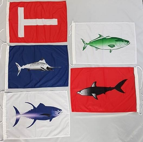 Delux Catch Flag Set