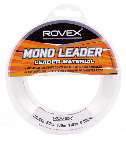 Rovex Mono Leader 100m Clear