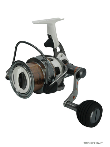 Okuma Trio Rex Salt Surfcast Reel