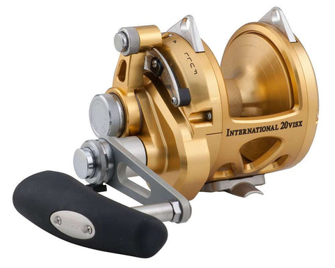 PENN International 20 VISX Open Top Game Reel
