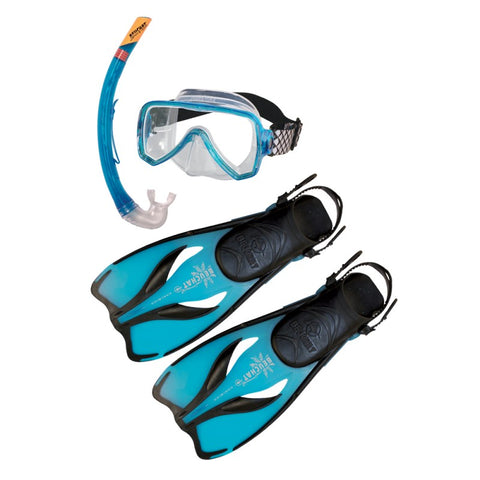 Beuchat Mask, Snorkel and Fin Set - Adult
