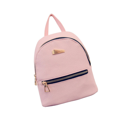 Women's New Fashion Causal Backpack Travel Handbag Mini School Bags Daypack for Girls