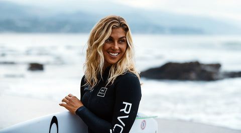 Sage Erickson: Kind on the Sand, Competitor in the Water