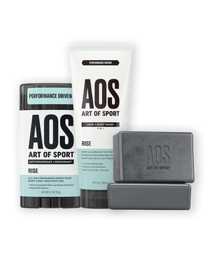 DEODORANT + HAIR & BODY WASH + BODY BAR 2PK